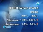 В шест области скачат местните данъци и такси от тази година