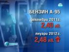Увеличението на акциза на горивата се отразява все по-сериозно на джоба ни