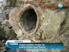 Водата разкри селище от римско време край Бургас