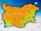 Код оранжево за опасност от силен снеговалеж, поледици и вятър в почти цялата страна