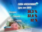 Икономиката на България е най-сивата в ЕС