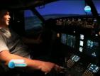 "Американец построи симулатор на ""Боинг 737"" в гаража си"
