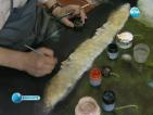 Художник символично възроди седмото тепе на Пловдив