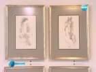 Непоказвани платна на Дечко Узунов подредени в столична галерия