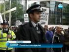 Стачка на полицаите в Лондон