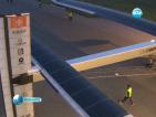 Първият в света слънчев самолет летя от Швейцария до Мароко