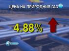 Цената на газа скача с близо 5% (ОБНОВЕНА)