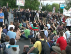 Контра: Протести за и против Закона за горите блокират София