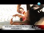 Диана Любенова и Лес Уелдън показаха малката си дъщеря