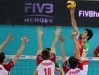България изпусна бронза в Световната лига по волейбол