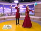 """Живописни костюми и танци от дагестанския ансамбъл """"Лезгинка"""""""