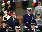 Оланд поде честванията на националния празник 14 юли