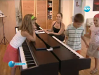 Лятно музикално училище забавлява учениците през ваканцията