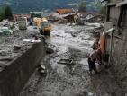 Порои и кални вълни в Австрия взеха една жертва