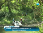 Любители на рафтинга на еко регата по поречието на Струма