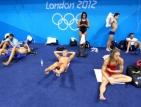 Жега мъчи плувците в Лондон