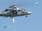 Военни хеликоптери дежурят денонощно за помощ при кризи