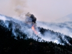 Горски пожар изпепели малко американско градче