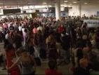 Хаос и стотици блокирани на летището в Катания