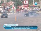 Най-добрите дрифтъри правят шоу със свръхмощни коли във Варна