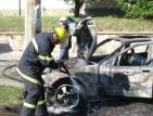 Запалиха кола на митничар при акция срещу нелегална търговия с цигари