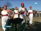 Млада двойка се венча на церемония в духа на Древен Рим