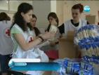 БЧК започва раздаването на хранителни помощи в София