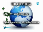 България е извън класацията на най-добрите университети