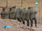 Военни пресъздадоха полетата на Афганистан в българско село