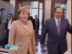 7 000 полицаи и водолази ще охраняват Меркел в Атина