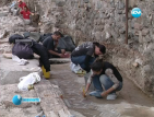 Откриха древна мозайка при западната порта на Сердика