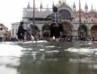 Венеция е под вода заради порои