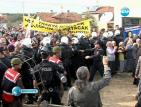 Турците на протест срещу новата АЕЦ до Резово