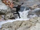 На лов за сухи пасти в ледените води на река Радово