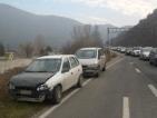Верижна катастрофа в тунел край Благоевград