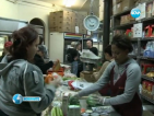 Французойка посрещна 2013 г. заключена в супермаркет