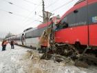 Два влака се удариха челно във Виена