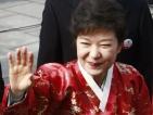 Първата жена президент на Южна Корея положи клетва
