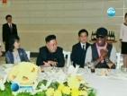 Денис Родман на среща с Ким Чен Ун