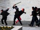 Кървави демонстрации блокираха Скопие