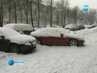 В Русия измериха рекордно висока за април снежна покривка
