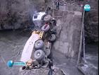 Бетоновоз срути мост в Рибарица