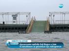 Дунав се покачи критично, Струма напусна коритото