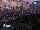 В Хърватия протестират срещу табели на кирилица