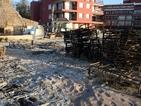 200 шезлонга изгоряха на Слънчев бряг