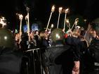 Протестиращи създадоха хаос пред НДК, нахлуха в сградата