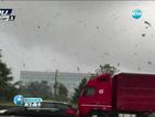 Торнадо премина в покрайнините на Милано