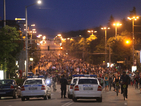 Протестите в столицата продължават