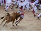Трима са пострадали на традиционното тичане пред бикове в Памлона
