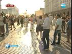 Протестите в 29-ия ден започнаха мирно